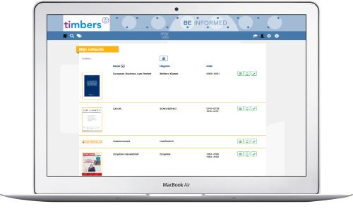 Mox-info webbased beheermodule en zelfservice voor lezers.